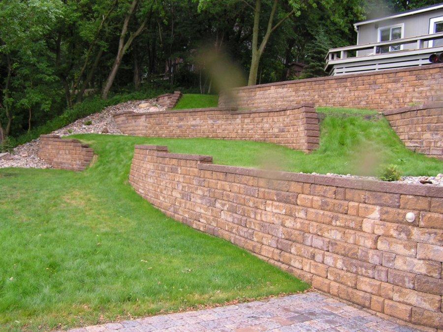 Block Retaining Walls Exterior Designs Of Alexandria
